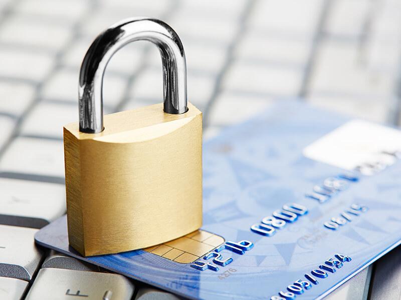 заблокировали кредитный счет