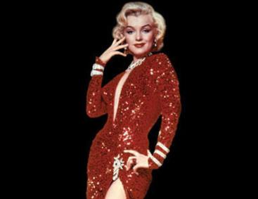 Фото мерлин монро в красном платье