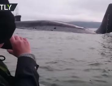 подводная лодка рыбаки японское море